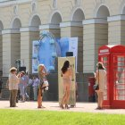 MUSEUM OF TELEPHONE HISTORY AT 'IMPERIAL GARDENS OF RUSSIA'