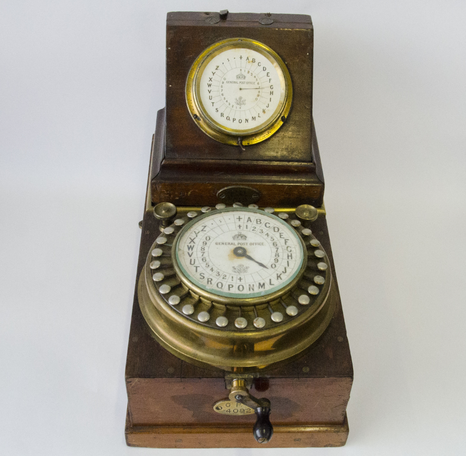 first electric telegraph ABC